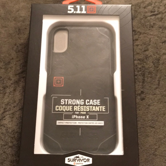 buy popular 9f408 ad66e NWT IPhone X Griffin Survivor 5.11 Tactical Case NWT